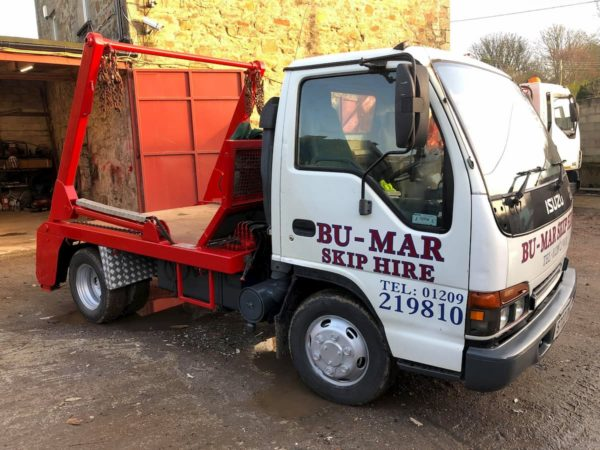 Bu-Mar Skip Hire Truck